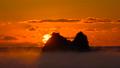 タイムラプス, 荒船海岸の海霧と夜明け 和歌山県串本町田原 47419117