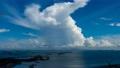 「Time lapse]入道雲の成長と雨雲  47448920