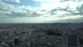 Tokyo city center time lapse January blue sky and cloud title back 47452198