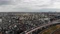 东京航空照片风景足立区住宅区市容多云的天空 47452445