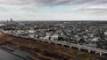 东京航空照片风景足立区住宅区市容多云的天空 47452448