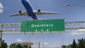 Airplane Take off Queretaro.spanish 47453796
