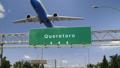 Airplane Take off Queretaro 47453800