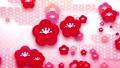 日式粉红色和红色梅花和云海环 47495883