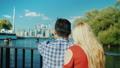 couple, journey, tourism 47546403