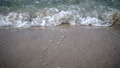 Waves on the beach on the shores 47551383