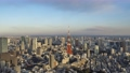 【タイムラプス】東京タワーと東京都心のマジックアワー ズームあり 47568907