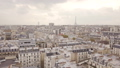 Flying above roofs of Paris 47627011