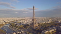 Aerial view of Eiffel tower 47627012