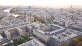 Aerial view of Notre Dame de Paris Cathedral 47627013