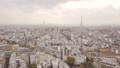 Flying above roofs of Paris 47627014