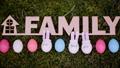 decoration for Easter. Easter bunnyes 47650483