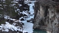 冬天晴明河流河水雪 47666837
