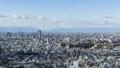 名古屋都市の風景と伊吹山  タイムラプス フィクス撮影 47670544