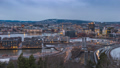 Oslo Norway city skyline day to night time lapse 47680343