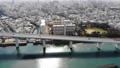 沖繩之夜Ohashi和那霸無人機的城鎮景觀航拍照片 47701406