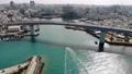 沖繩夜港和船舶進入Sunny港口 47703295