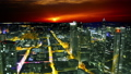 Frankfurt, Germany: sunset cityscape view 47755751
