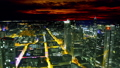 Frankfurt, Germany: sunset cityscape view 47755752