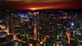 Frankfurt, Germany: sunset cityscape view 47755753