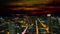 Frankfurt, Germany: sunset cityscape view 47755755