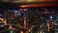 Frankfurt, Germany: sunset cityscape view 47755756