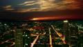 Frankfurt, Germany: sunset cityscape view 47755757