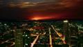 Frankfurt, Germany: sunset cityscape view 47755759