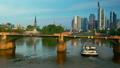 Bank buildings across the river Main in Frankfurt 47755886
