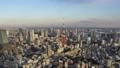 【タイムラプス】東京タワーと東京都心のマジックアワー チルトアップ 47768022