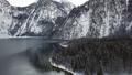 Winter aerial of Konigssee lake, Berchtesgaden 47771600