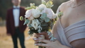 bouquet, forest, wedding 47796396