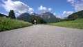 Women  electric eco bike cycling Italy Dolomites  47797983