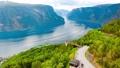 Stegastein Lookout Beautiful Nature Norway 47797986