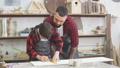 boy, workshop, family 47809168