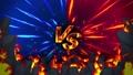 對戰遊戲VS火焰射線動畫循環 47830193