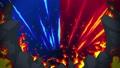 불꽃 싸움 에너지 광선 애니메이션 루프 47830245
