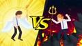 Angel Devil Battle Animation ธุรกิจคอสเพลย์ห่วง 47830795