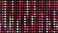 閃耀的心臟後面衣服飾物之小金屬片窗簾背景 47839957
