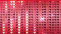閃耀的心臟後面衣服飾物之小金屬片窗簾背景 47839959
