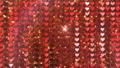 閃耀的心臟後面衣服飾物之小金屬片窗簾背景 47839961