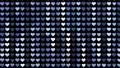 閃耀的心臟後面衣服飾物之小金屬片窗簾背景 47839966