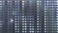 閃耀的心臟後面衣服飾物之小金屬片窗簾背景 47839967