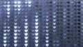 閃耀的心臟後面衣服飾物之小金屬片窗簾背景 47839968