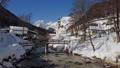 Winter aerial of church in Ramsau, Berchtesgaden, Germany 47850124