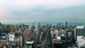 Aerial view time lapse of downtown Namba, Osaka. 47856528