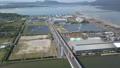 Sticky Saka Esashima Ohashi Tottori Prefecture Sakaiminato Shimane Prefecture Matsue City Ramen Box Girder bridge Drone Aerial shooting 47858155