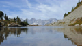 Hyperlapse of lake Spiegelsee with reflections of Dachstein, Austria 47869916