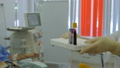 Hemodialysis center. Connecting a person. 47892936