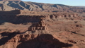 Aerial view of the western United States Mexican Hat Utah 47979385